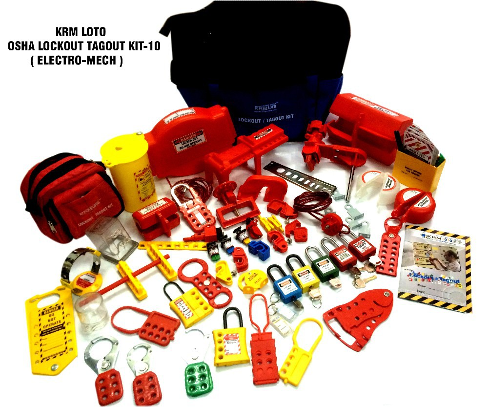 OSHA Lockout Tagout kit