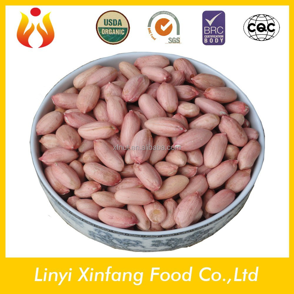best selling products red coral peanut peanut kernels 24/28 raw organic peanuts