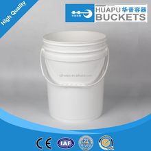 plastic cheap buckets pails 20L 5 gallon / cheap plastic bucket 20L 5 gallon