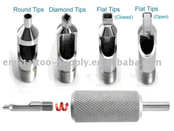 Professional Stainless Steel Tattoo Tips (Screw-in)