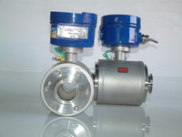 Digital Sanitary Magnetic Water Flow Meter