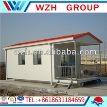 Low cost and modern prefabricated ready made house/ kit homes