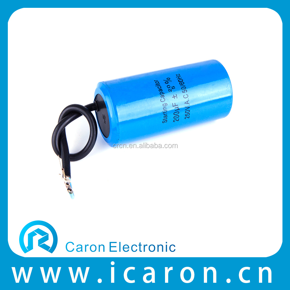 CD60 ac motor dry type metallized polypropylene film super capacitor 400v