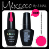 Mixcoco 2015 toxin free uv nail polish private label nail polish