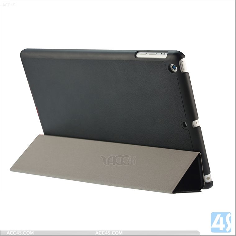 2014 Hot selling products For iPad Air 5 5th Gen Ultra Thin Magnetic Smart Case Cover P-IPD5CASE045