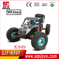 WLToys K949 2.4Ghz RC Remote Control Truck Dirt Drift rc Cars and trucks 1/10 4WD 2.4G climbing rc car RTR VS A949 A959 A969 A9