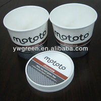 printed yogurt packaging cups and lids