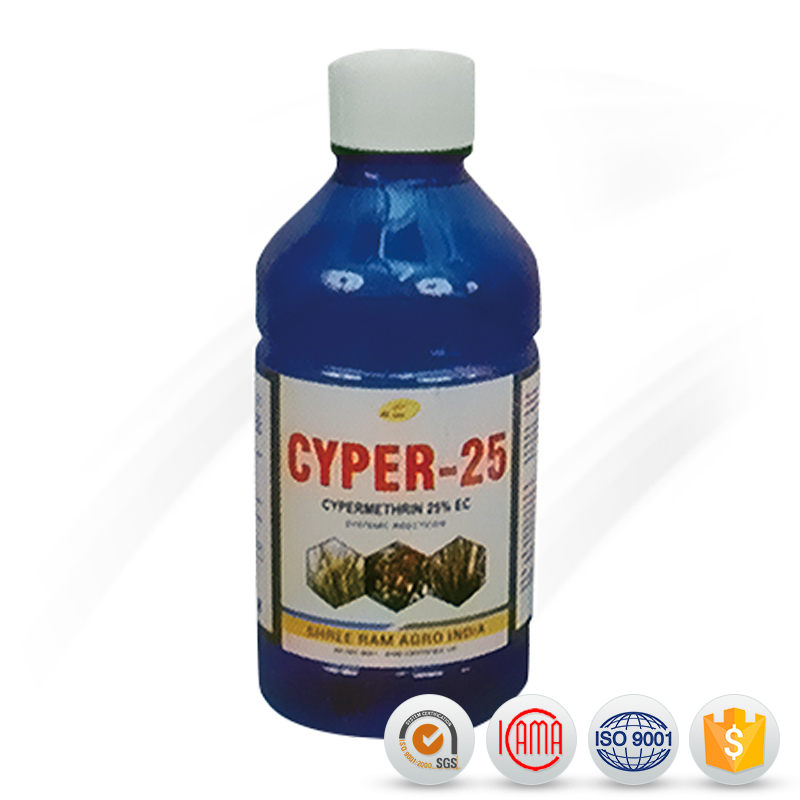 agrochemical pesticide insecticides cypermethrin 5% EC