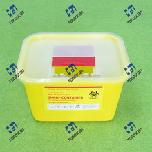 Plastic Sharp Container 4L Medical waste Management