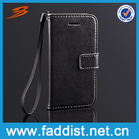 hot selling wallet case for iphone 5c DELUXE PU leather