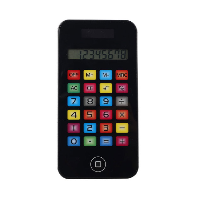 PN-2052C Apple Mobile Calculator with Touch Screen Phone Shape