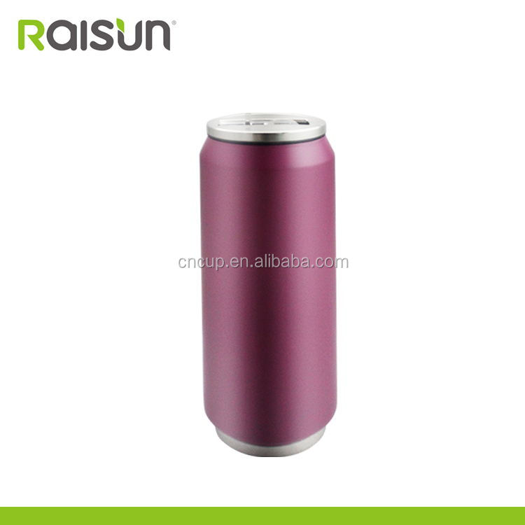 fashionable cola can shaped stainless steel rare coke bottles vacuum bottles