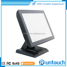 "Runtouch RT6800 Dual Display POS Touch System 15"" Fanless Touch Screen POS"
