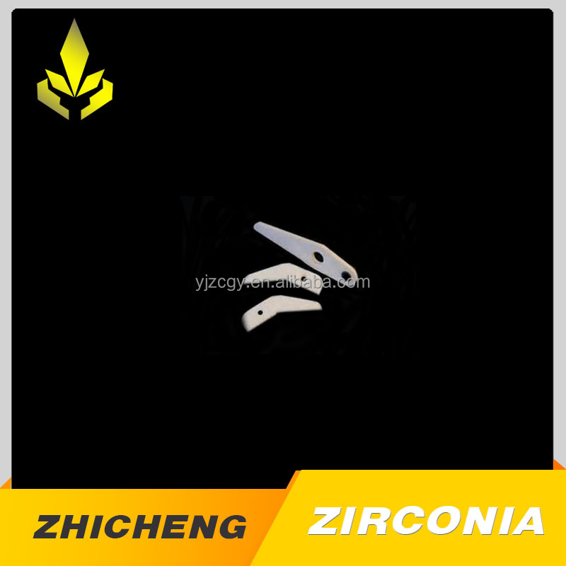 High quality zirconia ceramic precision parts with ZC
