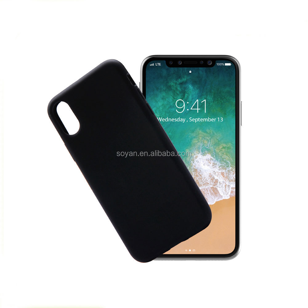 High quality soft silicone mobile cover phone case supplier for iphone 8 case