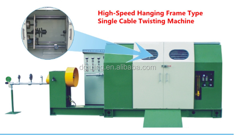 High Speed Frame Single Cable Wire Twisting Taping Machine