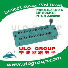 Hot sale bottom price zif ic socket connector from china