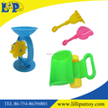 4pcs packing summer toy plastic colorful beach tool toy