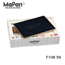 MaPan OEM 10 inch MTK6582 dual Core 3g Tablet PC Phone call WCDMA GSM dual Sim tablet factory in stock F10B 3G