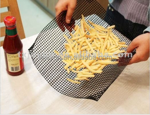 Reusable Chip Mesh /Quickachips/Cooking Baking Grilling/30x30cm Oven basket