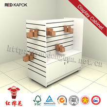 Wholesale high quality wooden retail store supermarket shopping display stand for mobile accessories