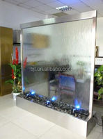 glass floor large indoor water fountain sale for artificial waterfalls
