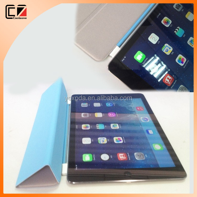 OEM and ODM smart cover for iPad Air 2,for iPad Air 2 smart cover case