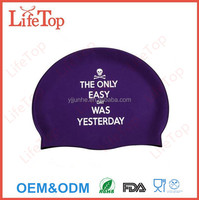 High-Quality Large Swim Cap for Long, Thick, or Curly Hair