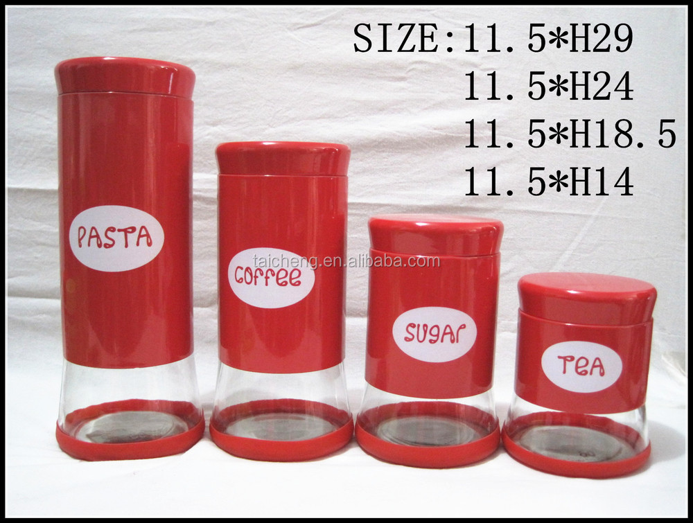 Stainless steel storage tank houseware set of leather