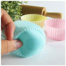 100% Food Grade Eco-Friendly Silicone Square Cake Cup