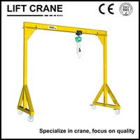 Warehouse Mini Mobile Gantry Crane
