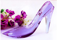 Beautiful Crystal High-heel Shoes Craft For Woman Wedding gift