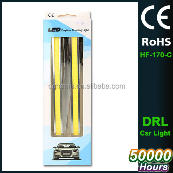 17cm LED Car Daytime Running Light DRL Daylight Lamp with Turn Lights