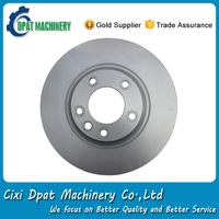 Competitive price 8K0615301A 320mm front disc brake rotor for Audi