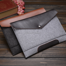 Beautiful and historical felt laptop protector bag, felt laptop case, felt laptop sleeve