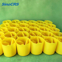 Rebar Safety Cap, Plastic Rebar Mushroom Cap, Steel Bar Cap