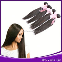 Best Selling 6A 100% Russian Virgin Natural Milk Way Silky Straight Hair Weft