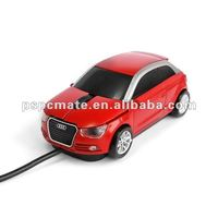 Audi car shape wired mouse