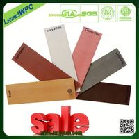 No paint and glue, being safe to human being wood plastic composite furniture board
