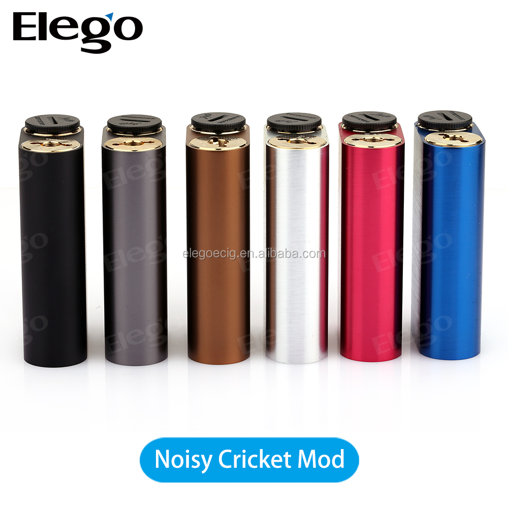 Salable Mech Mod Wismec Noisy Cricket with Black & Stainless Color