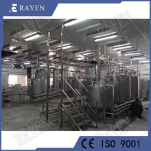 Stainless steel milk production machinery dairy processing machines