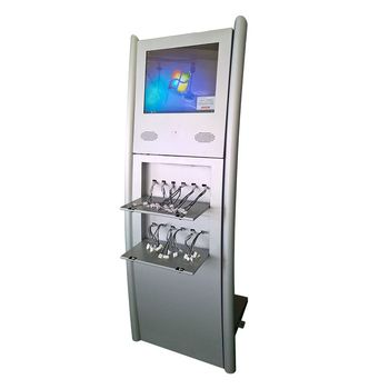 17 Inch Airport Restaurant Cell Phone Charging Station
