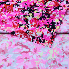 printed nylon spandex knitting fabric for swimwear
