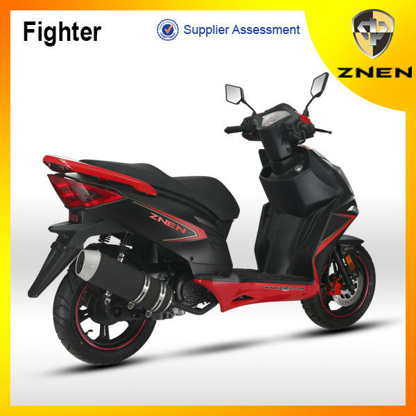 ZNEN scooter 125cc 150cc with LED light cheap Chinese gas powered motor scooters for wholesale