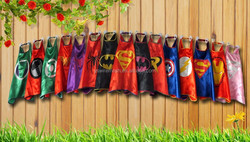 OEM children and adult superhero cape with your own logo