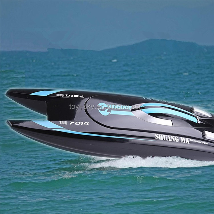 Kid toy 4ch rc high speed boat double horse 7014 for Rc fishing boat for sale