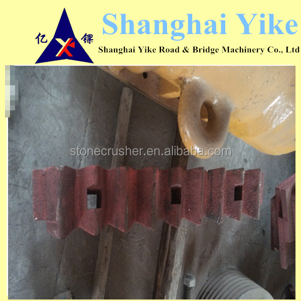 bao shan crusher parts, jaw crusher spare parts, wear parts importers