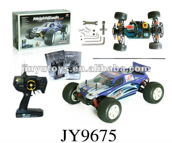 JY9675--1:10 scale petrol rc car nitro rc car