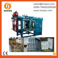 Compact Design and Space Saving Design EPS Polystyrene Foam Box Machine