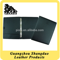 Manufacture Hot Selling Custom Leather A4 Conference File Folder